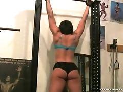 Babe, Fetish, Masturbation, Workout,