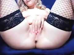 Babe, Blonde, Jerking, Pussy, Sex Toys, Sexy, Webcam,