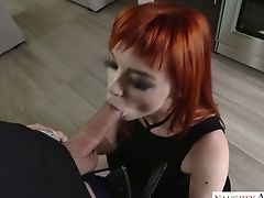 Blowjob, Bold, Boobless, Cowgirl, Desk, Gaping Hole, Ginger, Hardcore, High Heels, Horny,