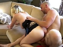 Babe, Big Tits, Blowjob, Couple, Dick, Felching, Hardcore, Home Video, Horny, Missionary,