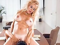 Big Tits, Blonde, Brunette, Curly, Desk, Facesitting, Fake Tits, HD, Lesbian, Mature,
