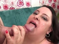 BBW, Cum In Mouth,