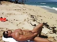 Big Ass, Brunette, Caucasian, Cumshot, Ethnic, Jerking, Masturbation, Muscular, Nature, Outdoor,