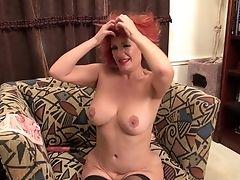 Amateur, Big Tits, Huge Tits, Mature, Redhead, Short Haired,