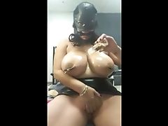 BBW, Big Natural Tits, Clamp, Pussy, Submissive,