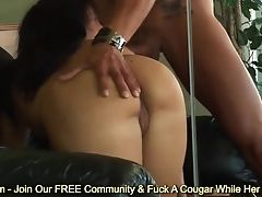 Ass, Brunette, Couple, Cumshot, Facial, Gorgeous, Hardcore, Huge Cock, Ricki White,