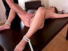 Amirah Adara, BDSM, Desk, Fetish, Gorgeous, Punishment, Submissive, Worship,