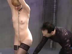 BDSM, Bondage, Cute, Fetish, Nipples, Rough, Spanking, Torture, Wax,