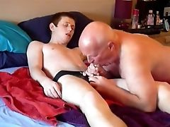 Bareback, Blowjob, Boy, Cum, Daddies, Grandpa, Old And Young,
