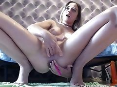 Blonde, Bold, Fingering, Juicy, Masturbation, Model, Sex Toys, Solo, Squirting, Vagina,