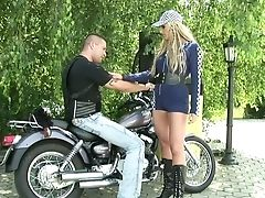Ass, Big Tits, Biker, Blowjob, Boyfriend, Cowgirl, Cumshot, Cute, Facial, Handjob,