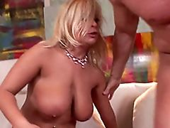 Anal Sex, Bareback, Big Natural Tits, Big Tits, Blonde, Blowjob, Bold, Clamp, Close Up, Cougar,
