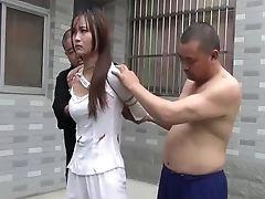 Babe, BDSM, Bondage, Chinese, Cute, Ethnic, Fetish, HD, Jail,