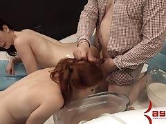 Anal Sex, Babe, BDSM, Blowjob, Bondage, Boobless, Brunette, Dildo, FFM, Golden Shower,