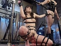 BDSM, Bella Rossi, Bondage, Dirty, Electrified, HD, Horny, Masturbation, Rough, Slut,