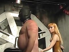BDSM, Big Tits, Fat, Femdom, Ginger, High Heels, Spanking,