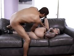 Babe, Big Cock, Cowgirl, Cumshot, Doggystyle, Face Fucking, Facial, Fingering, Glasses, Hardcore,