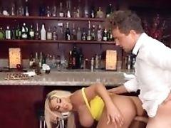 Amateur, American, Bar, Big Ass, Big Cock, Big Tits, Blonde, Blowjob, Clamp, Cowgirl,