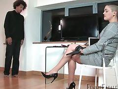 Bisexual, Bondage, Femdom, HD, Mistress, Punishment, Rough, Strapon,