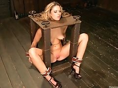 BDSM, Blonde, Cute, Screaming, Torture,