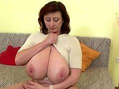 Amateur, Big Tits, Gorgeous, Granny, Huge Tits, Mature, MILF,