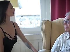 Moaning, Old And Young, Petite, Rough, Teen Pussy, Threesome,