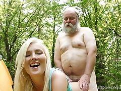 Beauty, Blonde, Bold, Boobless, Cowgirl, Cumshot, Forest, Handjob, Hardcore, HD,
