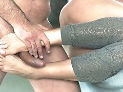 Alyssa Reece, Ass, Babe, Beauty, Blowjob, Boobless, Canadian, Cumshot, Foot Fetish, From Behind,