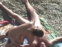Amateur, Babe, Beach, Beauty, Couple, HD, Hidden Cam, Nude, Nudist, Oral Sex,