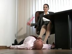 Amateur, BDSM, Boy, Brunette, Domination, Feet, Femdom, Fetish, Game, Humiliation,
