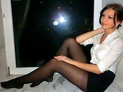 Amador, Compilação , Hd, Salto Alto , Nylon , Velho, Pantyhose, Russas, Minissaias , Voyeur ,