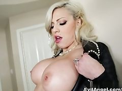 Anal Sex, Big Ass, Big Cock, Big Tits, Blonde, Facial, French, Interracial, Lexington Steele, Pornstar,