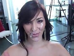 Blowjob, Compilation, Cum In Mouth, Cumshot, Face Fucking, HD, Pornstar,