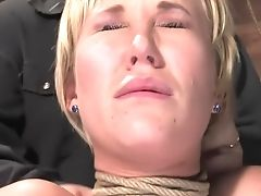 BDSM, Carly Parker, Hogtied, Nipples,