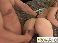 Big Tits, Blowjob, Couple, Cowgirl, Cumshot, Dirty, Doggystyle, Facial, Fake Tits, Hardcore,