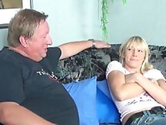 Blonde, Couple, Fat, German, Horny, Jeans, MILF,