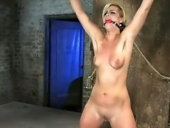 Bdsm, Blonde, Attachés, Sperme, Isis Love, Dur , écarter , Tara Lynn Foxx,