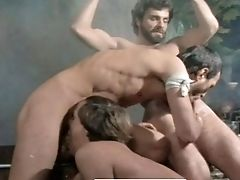 Big Cock, Blowjob, Bondage, Bound, Classic, Cumshot, Submissive, Threesome, Vintage,