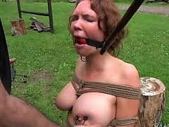 BDSM, Boots, Fetish, Nature, Outdoor, Sex Toys, Submissive, Torture,