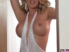 Brunette, Masturbation, Samantha Saint, Solo,