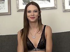 American, Babe, Casting, Couch, Dick, Legs, Model, Natural Tits, Sex Toys, Skinny,