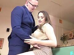 Big Tits, Blowjob, Chanel Preston, Couple, Cute, Doggystyle, Handjob, Hardcore, High Heels, Long Hair,