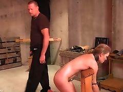 BDSM, Blindfold, Blonde, Fetish, Kinky, Rough, Slut, Spanking, Submissive, Torture,
