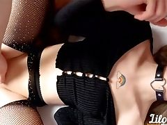 Amateur, Anal Beads, Big Ass, Big Cock, Blowjob, Boots, Cowgirl, Creampie, Double Penetration, Hardcore,