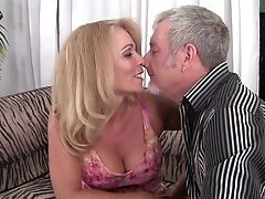 Bedroom, Blonde, Blowjob, Couch, Couple, Crying, Cum In Mouth, Cumshot, Doggystyle, Fingering,