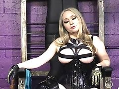 Aiden Starr, BDSM, Blonde, Dungeon, Femdom, Fetish, Game, Slut,