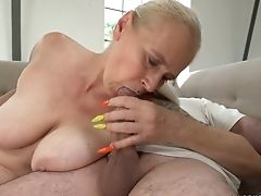 Ass, BBW, Big Tits, Blonde, Blowjob, Cumshot, Curvy, Facial, Granny, Handjob,