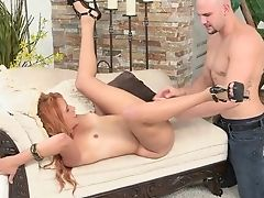 Blowjob, Boobless, Hairy, High Heels, Latina, Oral Sex, Petite, Redhead,
