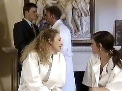 Sexe Anal, Bimbo, Pipe, Chauves, Appareil Dentaire, Classique, Couple, Ejaculation Interne , Mignonette, Pénétration Double,